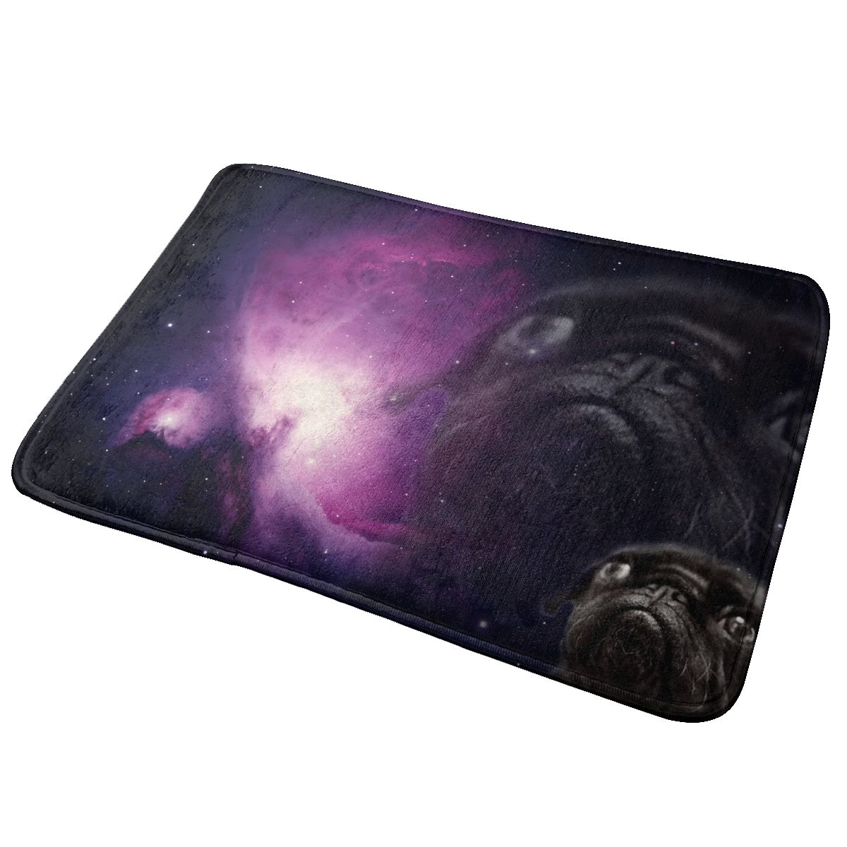 40x60cm Doormat Galaxy Pug Dog Door Mat Area Rug